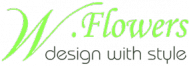 Logo for W Flowers